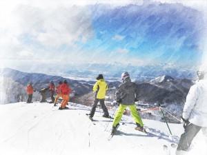 2015志賀スキー1