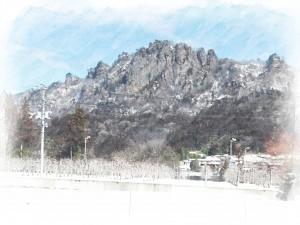 雪の岩櫃20150304
