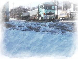雪の朝20150304